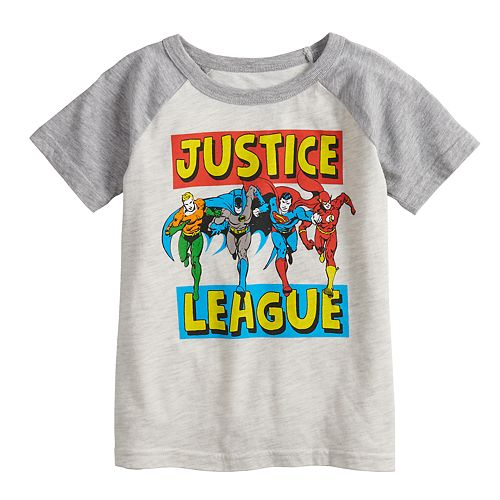 Toddler Boy Jumping Beans® DC Comics Justice League  Raglan Tee