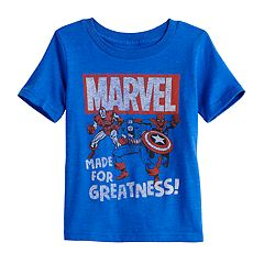 Toddler Boy Jumping Beans® Marvel 'Made for Greatness' Graphic Tee
