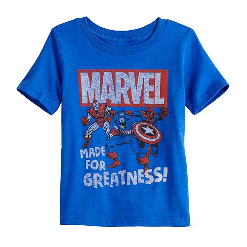 """Toddler Boy Jumping Beans® Marvel """"Made for Greatness"""" Graphic Tee"""