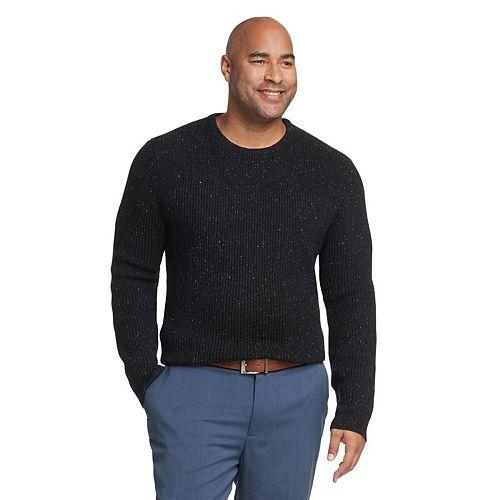 Big & Tall Van Heusen Flex Classic Fit Crewneck Sweater by Van Heusen