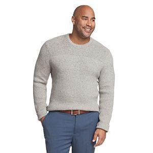 Big & Tall Van Heusen Flex Classic-Fit Crewneck Sweater