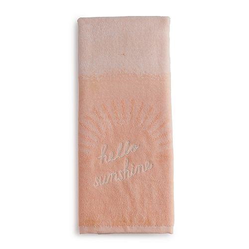 LC Lauren Conrad Hello Sunshine Hand Towel