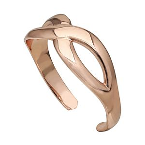 PRIMROSE Sterling Silver Infinity Band Toe Ring