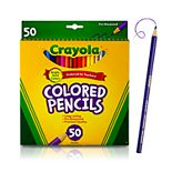 Crayola 50 Count Colored Pencils Set