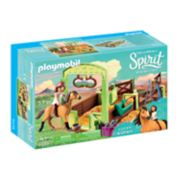 Dreamworks Spirit Lucky & Spirit with Horse Stall Set by Playmobil