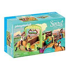 Dreamworks Spirit Lucky & Spirit with Horse Stall Set by Playmobil