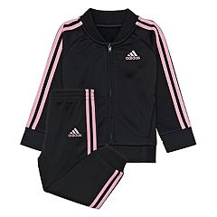 Toddler Girl adidas Tricot Jacket & Pants Set
