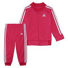 Toddler Girl adidas Tricot Jacket & Pants Set