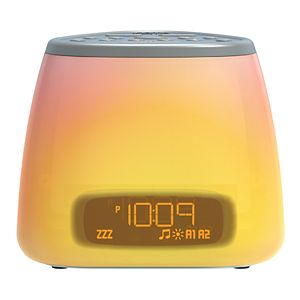 iHome iM29 Color-Changing Dual Alarm FM Clock Radio with USB
