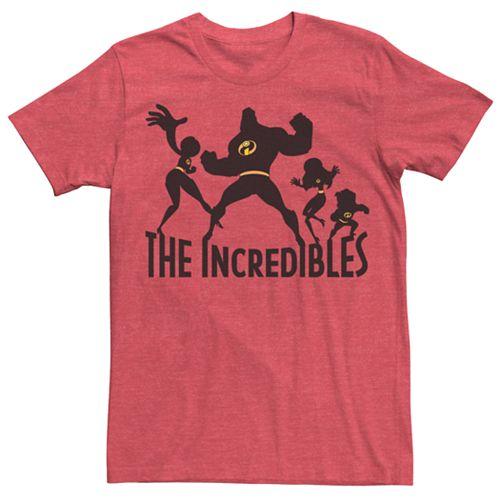 Men's Disney / Pixar The Incredibles Family Silhouette Tee