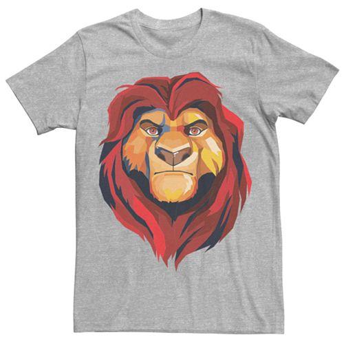 Men's Disney Lion King Mufasa Portrait Tee