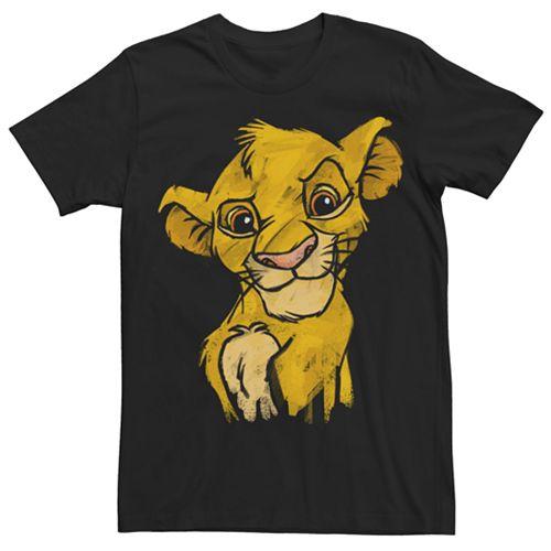 Men's Disney Lion King Simba Crown Prince Tee