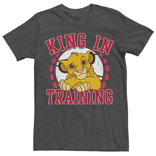 Men's Disney Lion King Simba King In Training Tee