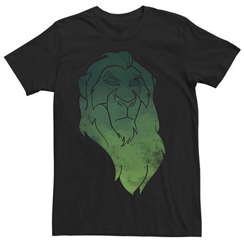 Men's Disney Lion King Scar Watercolor