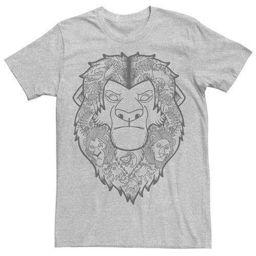 Men's Disney Lion King Drawn Tee