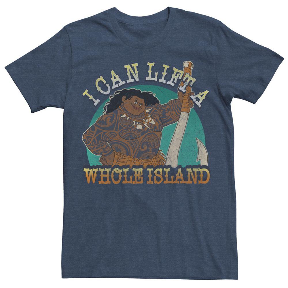 Men's Disney Moana Maui I Can Lift A Whole Island Tee