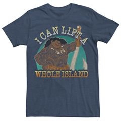 95e6d513c Men's Disney Moana Maui I Can Lift A Whole Island Tee