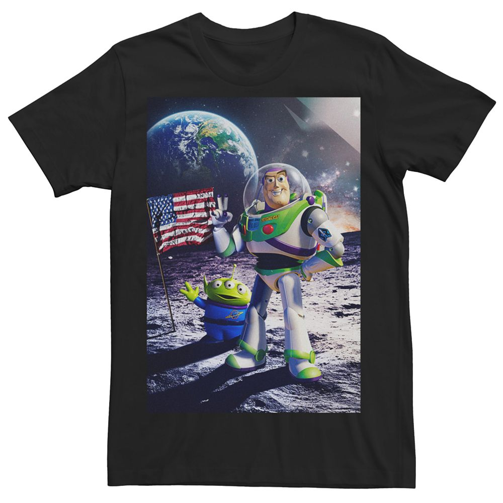 Men's Disney / Pixar Toy Story Buzz Lightyear Cosmic Explorer Tee