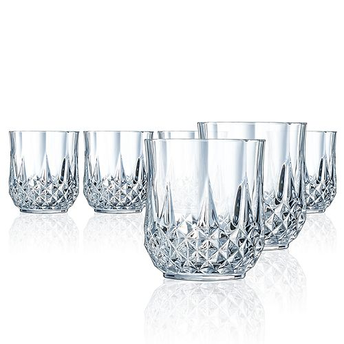 Longchamp 6-pc. Old Fashioned Glass Set