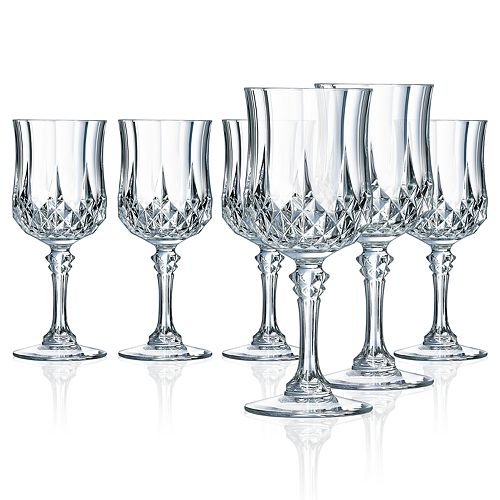 Longchamp 6-pc. Goblet Wine Glass Set
