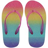 Girls 4-12 Elli by Capelli Thong Flip Flop Sandals