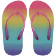 Girls 4-12 Elli by Capelli Thong Flip Flop Sandals