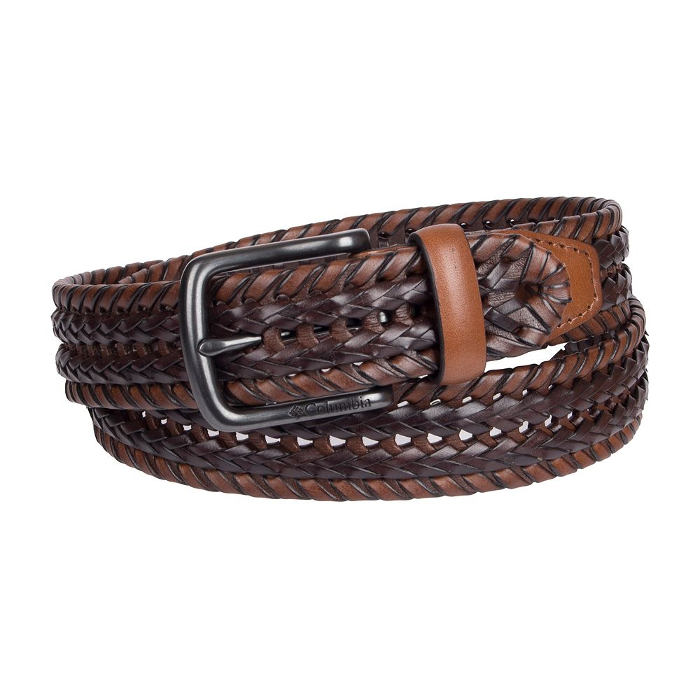 Men's Columbia Braided Belt