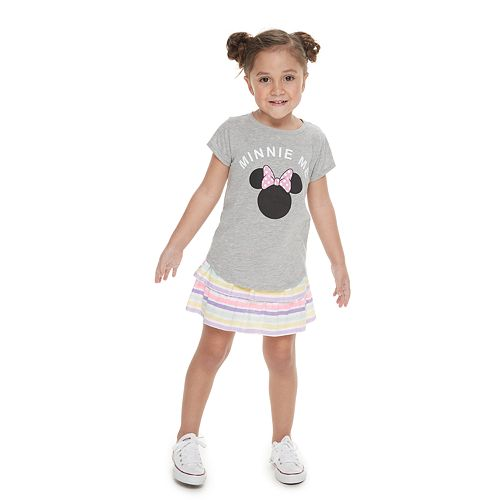 """Disney's Minnie Mouse Girl's 4-8 Family Fun™ Mommy & Me """"Minnie Me"""" Graphic Tee"""