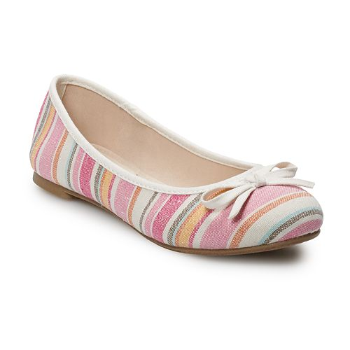 SO® Orchid Women's Ballet Flats