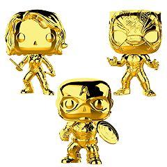 Funko POP! Marvel Studios 10 Gold Chrome Collectors Set 2
