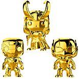 Funko POP! Marvel Studios 10 Gold Chrome Collectors Set 1