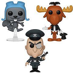 Funko POP! Animation Rocky & Bullwinkle Collectors Set