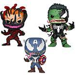 Funko POP! Marvel: Marvel Venom Collectors Set 4