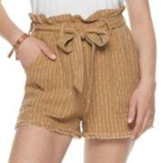 Juniors' Unionbay Frayed Hem Shorts