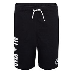 69fdb27bc Boys 8-20 Converse Lightweight French Terry Shorts. Black Blue Dark Gray  Heather