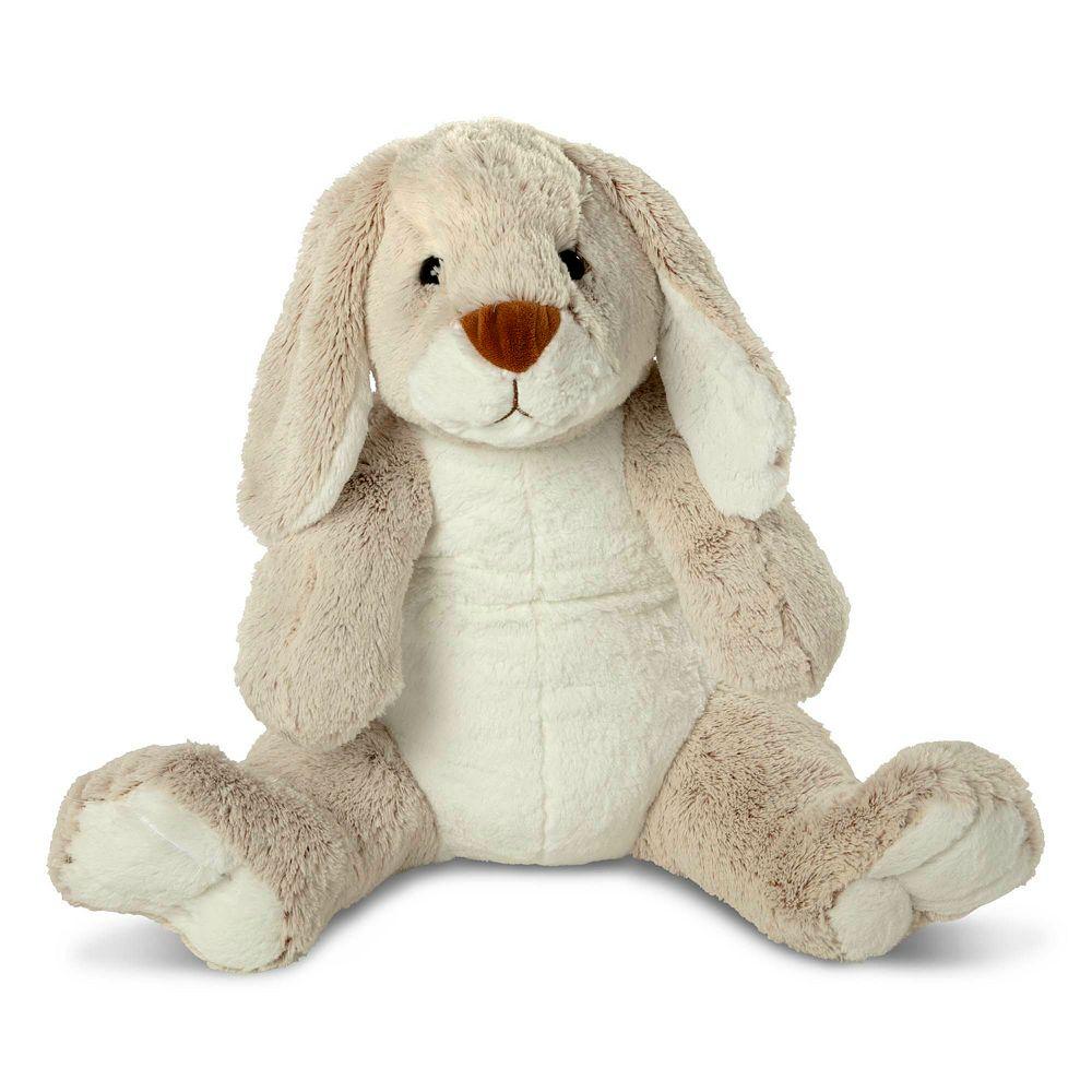 Melissa & Doug Jumbo Burrow Bunny Lop-Eared Rabbit Stuffed Plush Animal