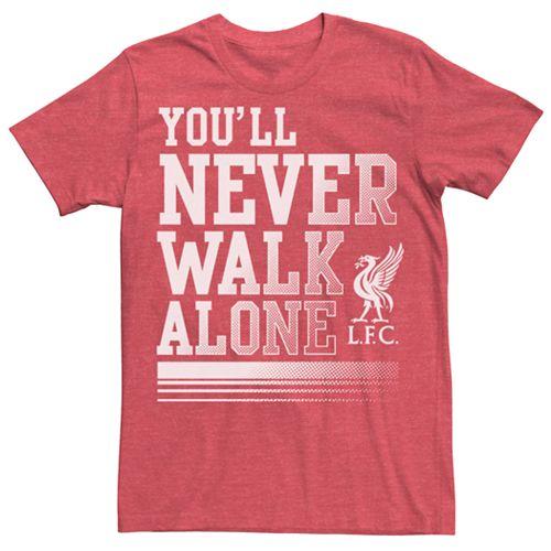 Men's Liverpool Football Club You'll Never Walk Alone Tee