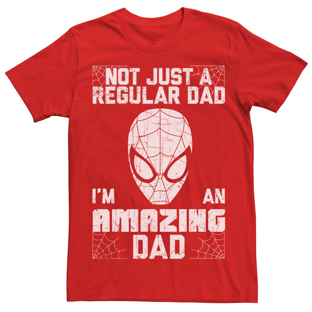 Men's Marvel Spider-Man Amazing Dad Tee