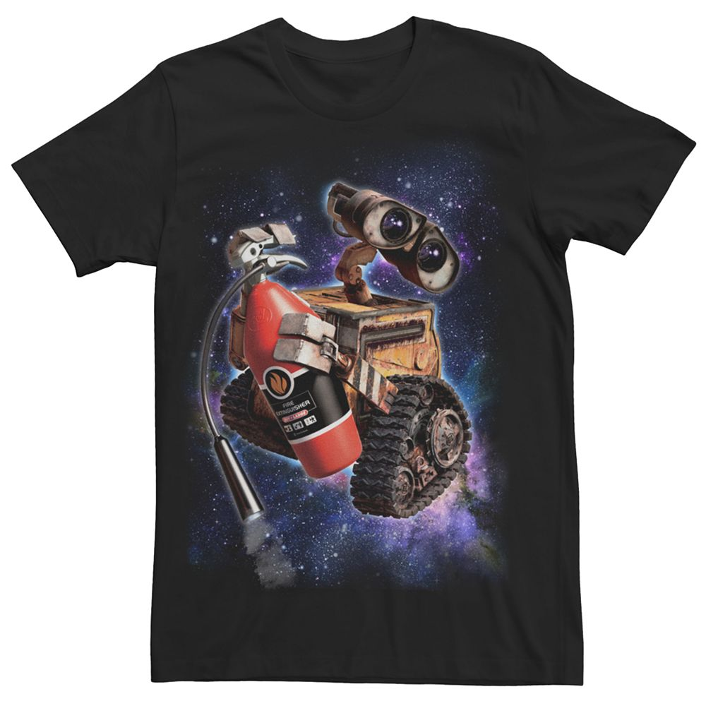 Men's Disney Pixar Wall-E Space Portrait Tee