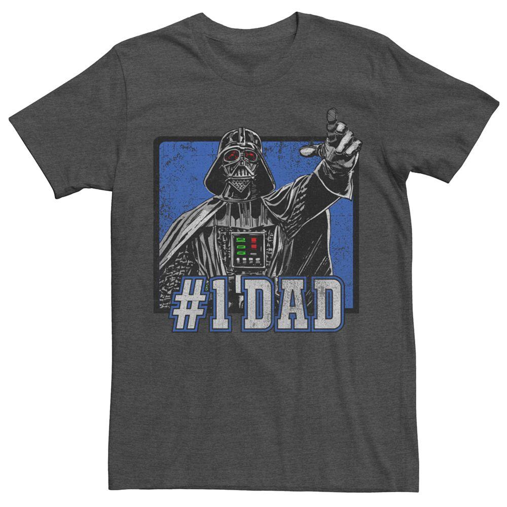Men's Star Wars Darth Vader Number One Dad Tee