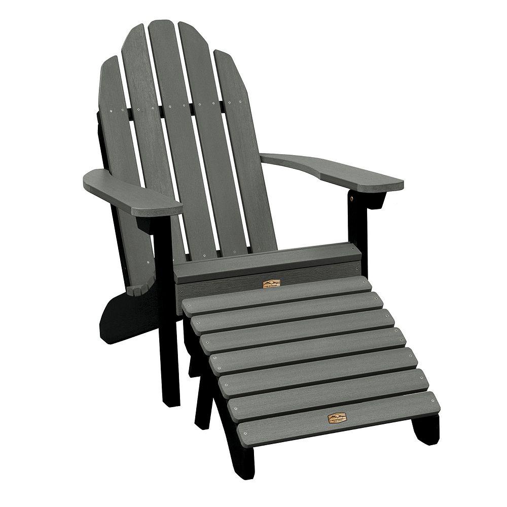 Elk Outdoors Essential Adirondack Chair & Folding Ottoman