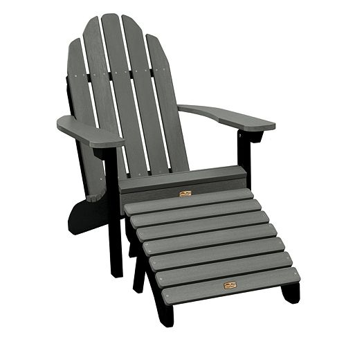 Elk Outdoors Essential Adirondack Chair Amp Folding Ottoman