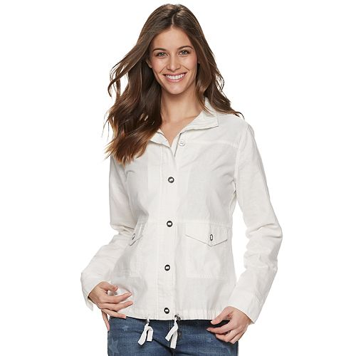 Women's SONOMA Goods for Life™ Linen-Blend Jacket