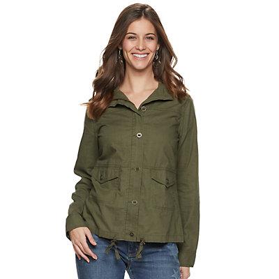 Women's SONOMA Goods for Life? Linen-Blend Jacket