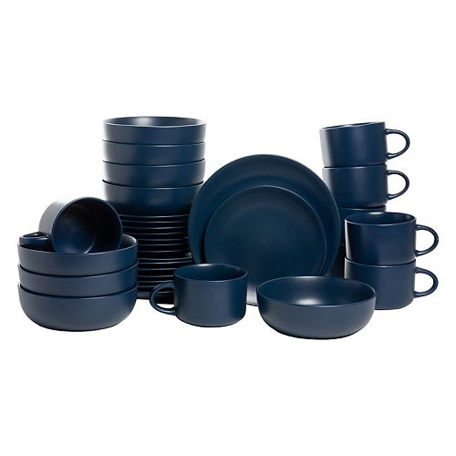 10 Strawberry Street 32-pc. Coupe Dinnerware Set