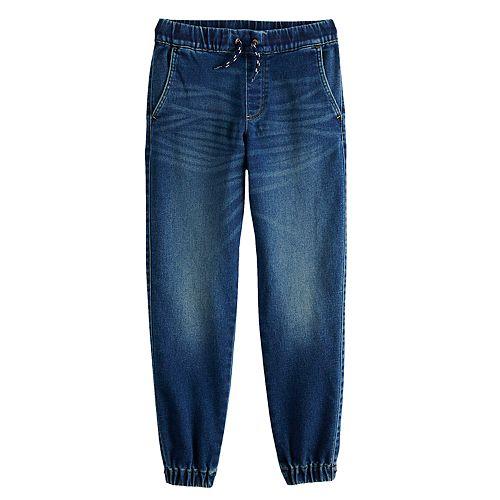 Boys 8-20 Urban Pipeline™ Knit Denim Jogger Pants