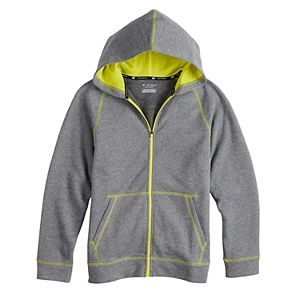 Boy's 8-20 Tek Gear® Ultrasoft Fleece Full-Zip Hoodie in Regular & Husky