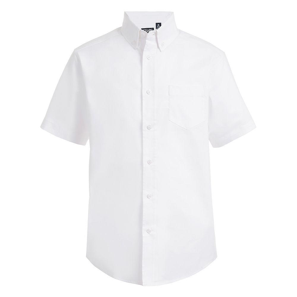 Boys 4-20 Chaps Button-Down Stretch Shirt