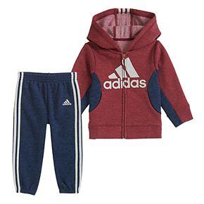 Toddler Boy adidas Fleece Set