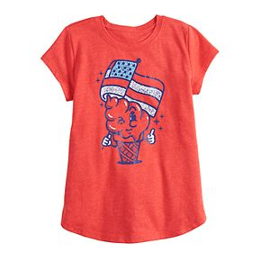 Girls 4-6x Family Fun? Americana Food Graphic Tee